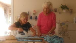 Sewing with Gram - Learning the Right Way